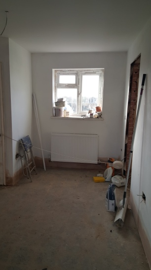 This would become the desk area