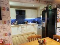 The 'blue' kitchen
